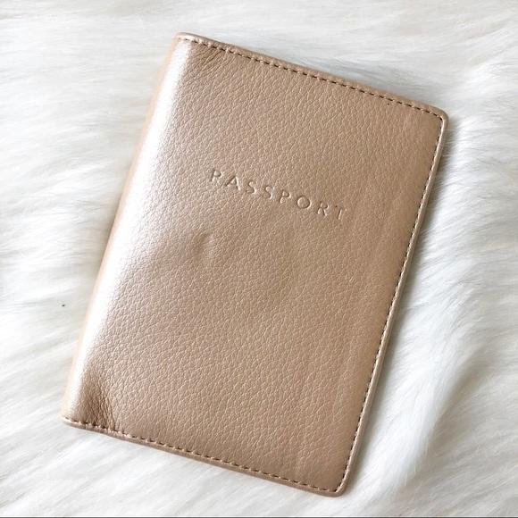 Coach Handbags - Authentic Leather Coach Passport Wallet